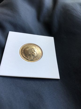Moeda libra de ouro ano 2000 (gold sovereign)