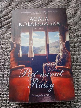 "Książka ""Pięć minut Raisy"" Agata Kołakowska"