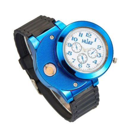 Zegarek z ukrytą Zapalniczką Elektryczną Plazmową na USB