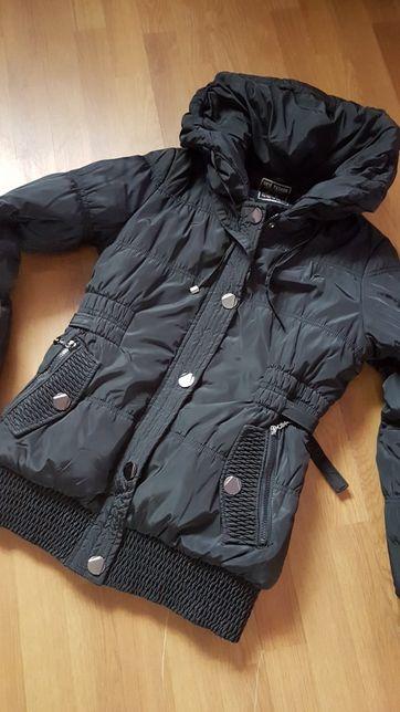 Ciepła zimowa kurtka r.M