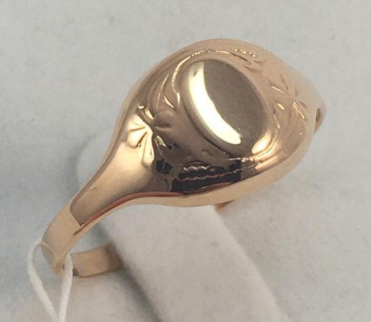 Кольцо золотое 583 проба, советское а132