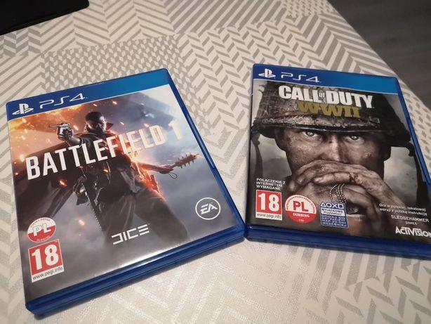 Pakiet Call of Duty WW2 + Battlefield 1