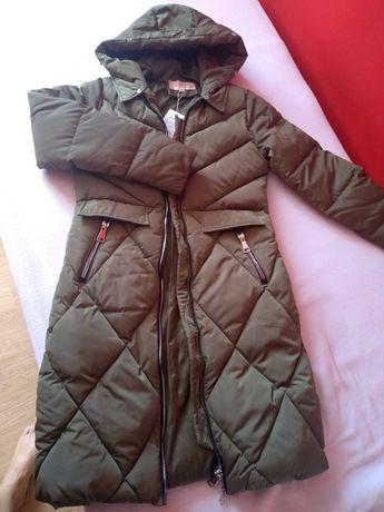 Płaszcz pikowany 38.Nowy
