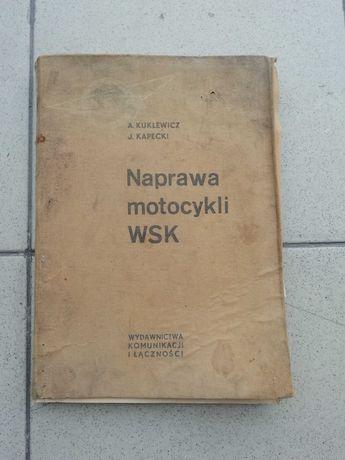 Książka sam naprawiam motocykl WSK 125