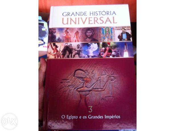 Grande história universal - o egípto e os grandes impérios