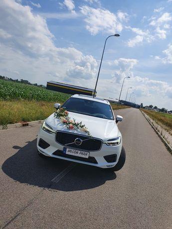 Samochód, auto do ślubu Volvo XC60 R-Design biały
