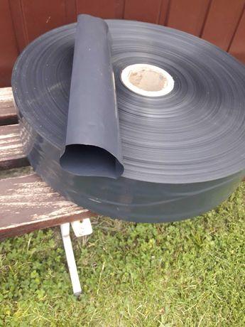 Rękaw foliowy do odprowadzania wody fi 120mm, deszczownia, rynna
