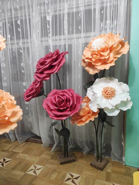 Прокат! Цветы для фотозоны, большие цветы