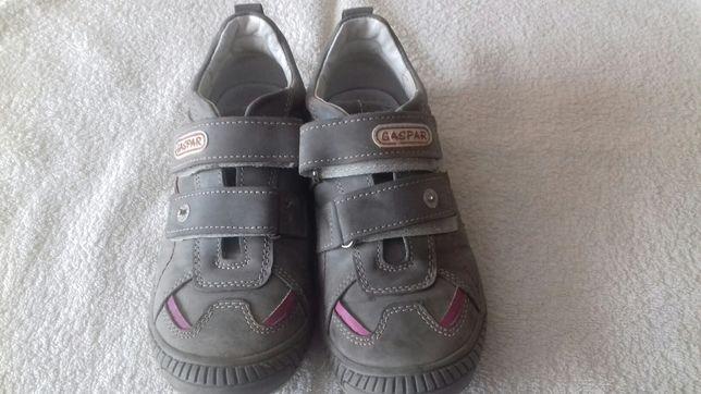 Buty skórzane dziewczęce r. 31