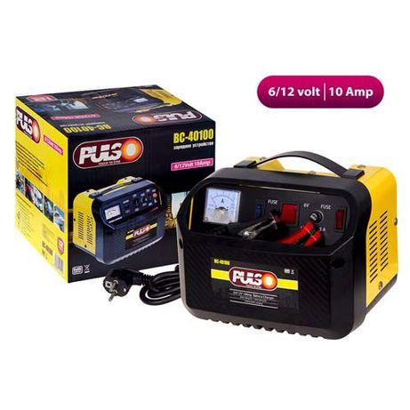 Зарядное устройство PULSO BC-40100 6-12V, 10A, 12-200AHR, стрелка инд