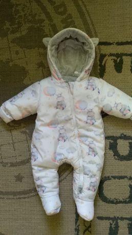 Зимний детский костюм/комбинезон