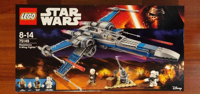 Lego Star Wars 75102 Poe's X-Wing 75149 Resistance X-wing