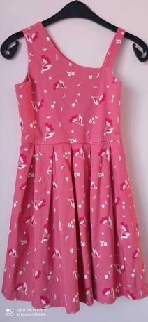 Letnia sukienka dla dziwczynki