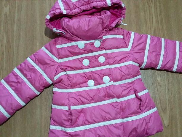 Зимнее пальто/куртка Snowimage на 2-3 года 98см