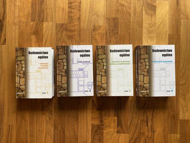 Budownictwo Ogólne tomy 1-4