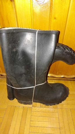 Kalosze Męskie czarne rozmiar 41 7 nowe