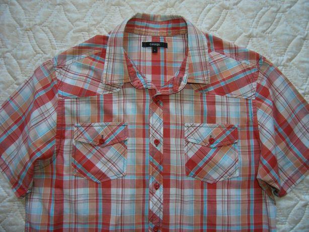 Мужская рубашка, шведка р.L