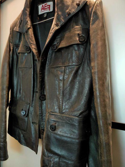 Кожаная винтажная куртка Днепр - изображение 1