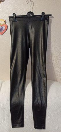 Лосини легінси екошкіра лосины леггинсы экокожа  Mango suit S