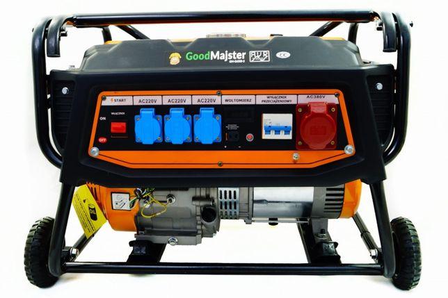 Agregat prądotwórczy - 5700W - GoodMajster GM-G6500-3