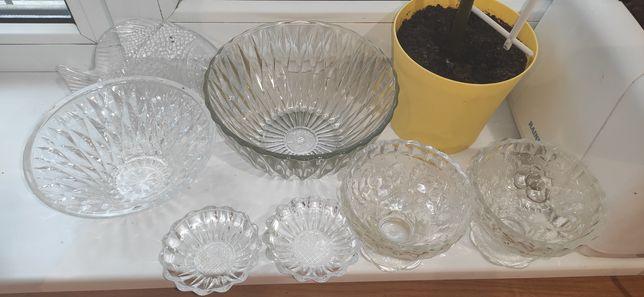 Хрусталь, посуда, салатницы