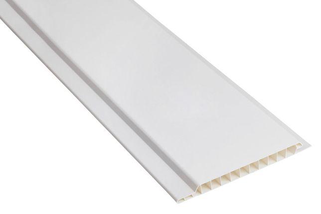panel 10cm x 3m panele ścienne PCV siding boazeria - biały białe biel