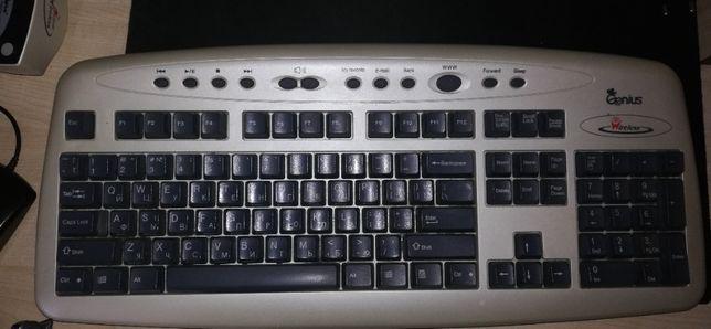 Беспроводные клавиатура и мышь Genius K300B293-B