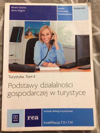Podręcznik Podstawy działalności gospodarczej w turystyce