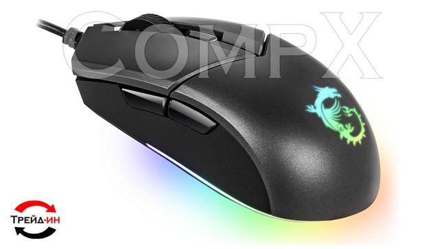 Игровая мышь MSI Clutch GM11 RGB(мышки, коврики, гарнитуры) CompX