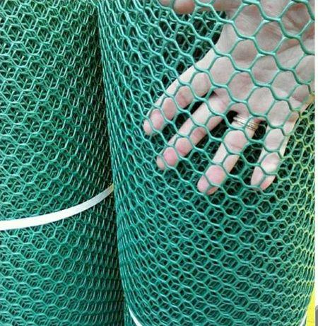 Пластиковая сетка, забор