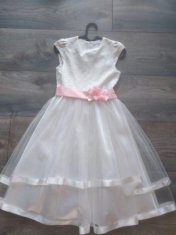 Sukienka elegancka pokomunijna