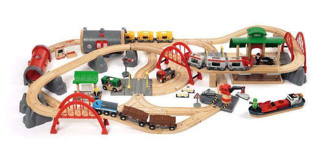 Brio (Брио) 33052 деревянная железная дорога (люксовый набор)