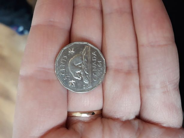 5 cents r.1961 CANADA