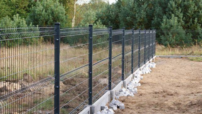 Ogrodzenia panelowe panele ogrodzeniowe płoty panelowe montaż