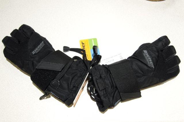 Rękawice narciarskie snowboardowe ZIENER MONTILY AS Junior rozm M 6,5