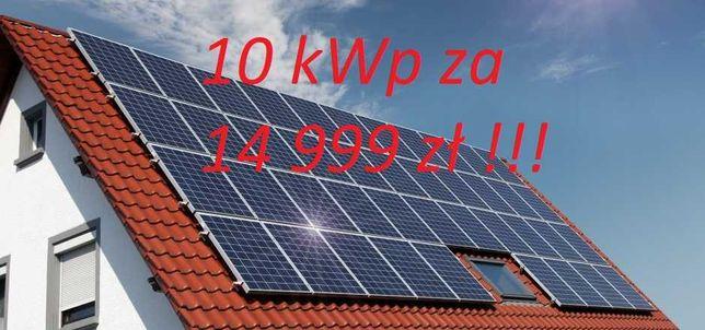 Zestaw fotowoltaiczny 10kWp w najlepszej cenie z opcją montażu