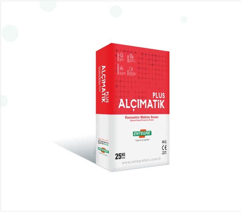 Штукатурка гіпсова машинного нанесення Alcimatik Plus (Туреччина) Коцюбинское - изображение 1