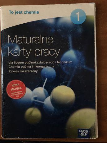 maturalne karty pracy - to jest chemia cz. 1