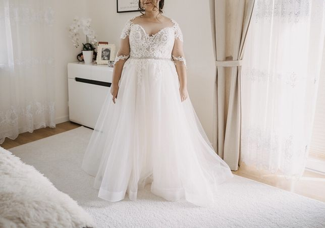 Suknia ślubna 42-48
