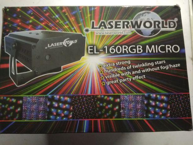LASER EL-160 RGB mikro firmy Laserworld