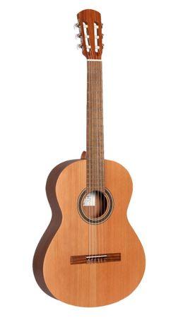 Alhambra Lagant-najtańsza HISZPAŃSKA gitara + 2kpl strun SAVAREZ