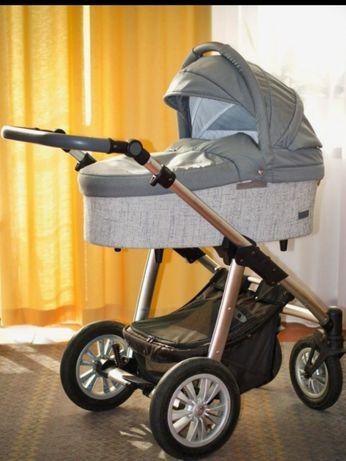 Wózek 2 w 1 Baby Design Dotty + fotelik Kiddy Evolution Pro 2 + adapte