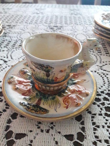 Porcelana Capodimonte - Włochy - różne (P.128)