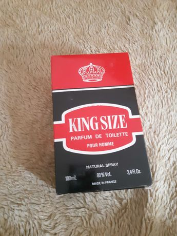 King size оригинал мужской одеколон