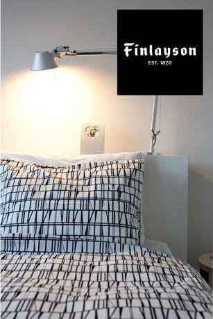 Фінська дизайнерська постіль finlayson klassikko одинарна, набір
