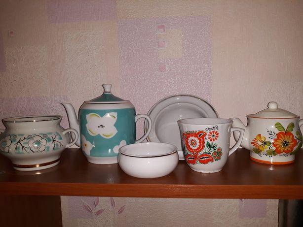 Набор посуды СССР.