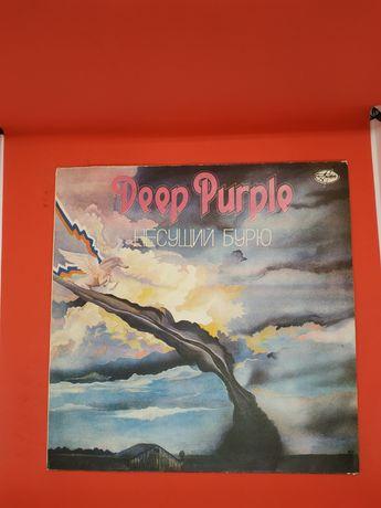 Deep purple несущий бурю виниловая пластинка ссср