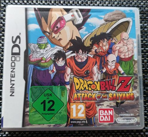 Dragon Ball Z Attack Of The Saiyans Nintendo DS Europejska