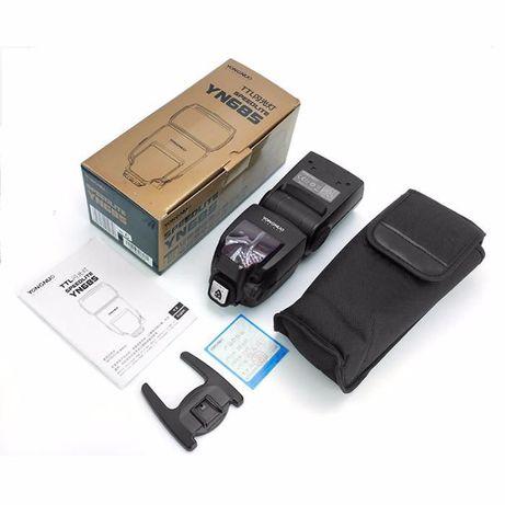 Yongnuo 685 TTL c/difusor + opção Trigger - Versão Canon