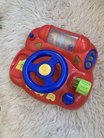 Игровая панель руль, музыкальный руль, симулятор руля озвученый